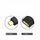 Micro Male to HDMI Female Cable TV Adapter