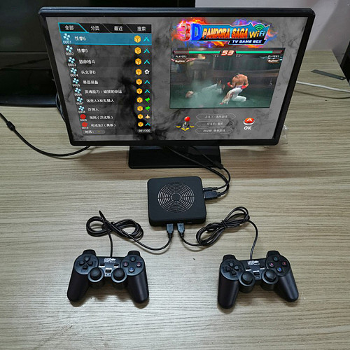 3D Pandora Saga TV Game Box Video Game Console (Wired Controller)
