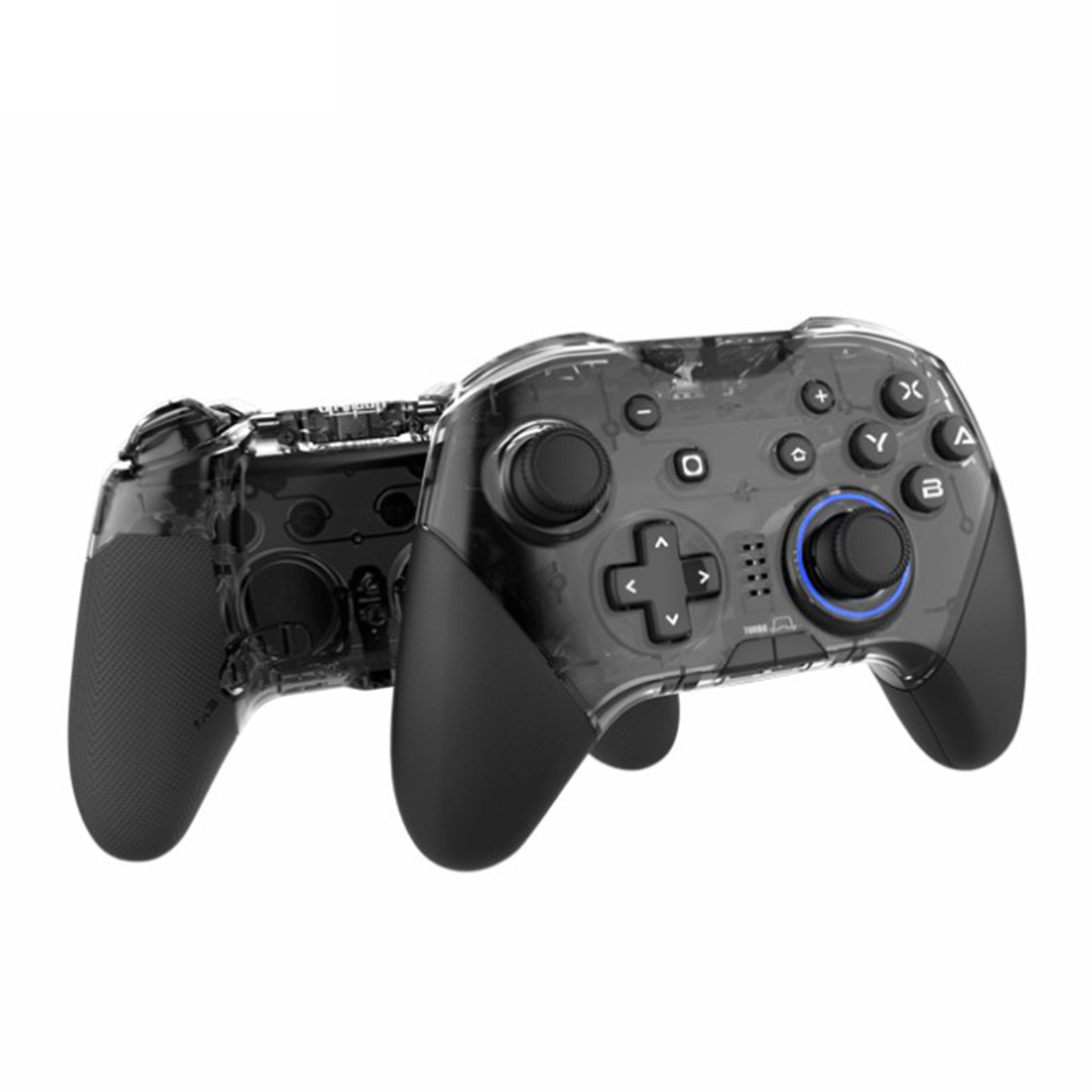 Bluetooth Game Controller Support NFC Macroprogramming Vibration Adjustment for Switch /PC /Steam