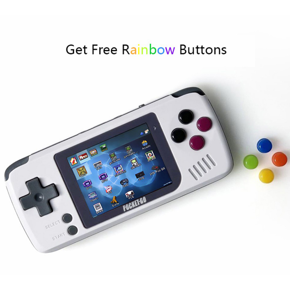 PocketGo Retro Handheld Open Source Game Console (32G)
