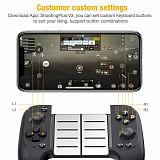 Wireless Bluetooth Game Controller Telescopic Gamepad Joystick for Smartphone
