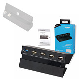 5-In-1 HUB Expander USB HUB for PS4