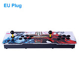 Pandora Box 3D 18S Pro 4000 Games Multi-player Arcade Game Console WiFi Version (Artwork: Street Fighter V) (Metal Body)