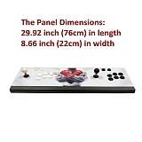 Pandora Box 3D 18S Pro 4500 Games Multi-player Arcade Game Console WiFi Version (All Metal and Bigger Version) (Artwork: Black Dragon)