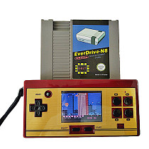 Handheld Game Console Game Player Support 72 Pin Cartridge /NESN8 /FC /NES Game Card