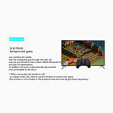 BETOP H2 Bluetooth Gamepad Single-double Handle Free Switching Designed for PUBG Mobile / PC/ IOS /Android - Grip Version