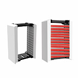 12-Tier Game Disk Tower Vertical Stand for PS5 /Switch /XBOX