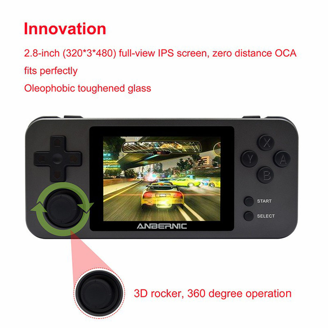 Anbernic RG280M Handheld Open Source Retro Game Console Built-in 10,000 Games Metal Version