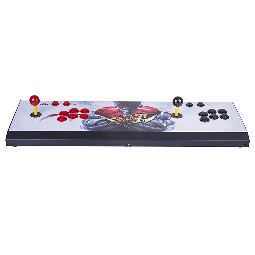 Pandora Box 3D 4018 Games Arcade Multi-player Game Console WiFi (All Metal and Bigger Version) (Artwork: Black Dragon)