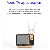 Mini TV Handheld Retro Bookshelf 108 Classic Games Console with Double Controllers Support TV Output