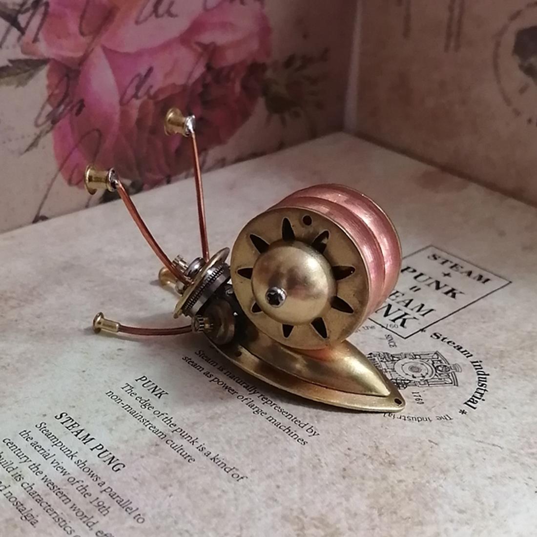 Snail 3D Puzzle Metal Mechanical Animal Model Kits