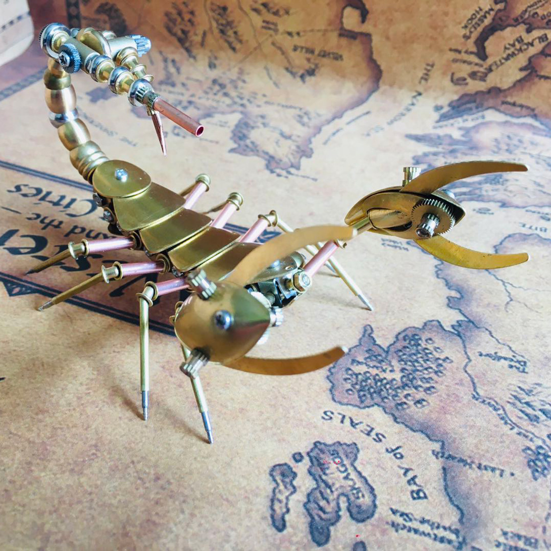 Mechanical Scorpion 3D Puzzle Metal Insect Model