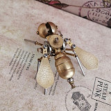Mechanical Bee 3D Puzzle Metal Insect Model