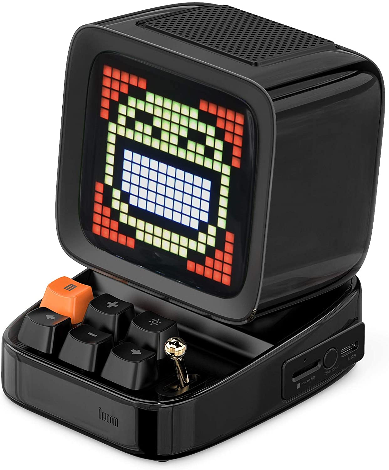 Divoom Ditoo Retro Pixel Art Wireless Bluetooth Speaker Alarm Clock Multipurpose Handheld