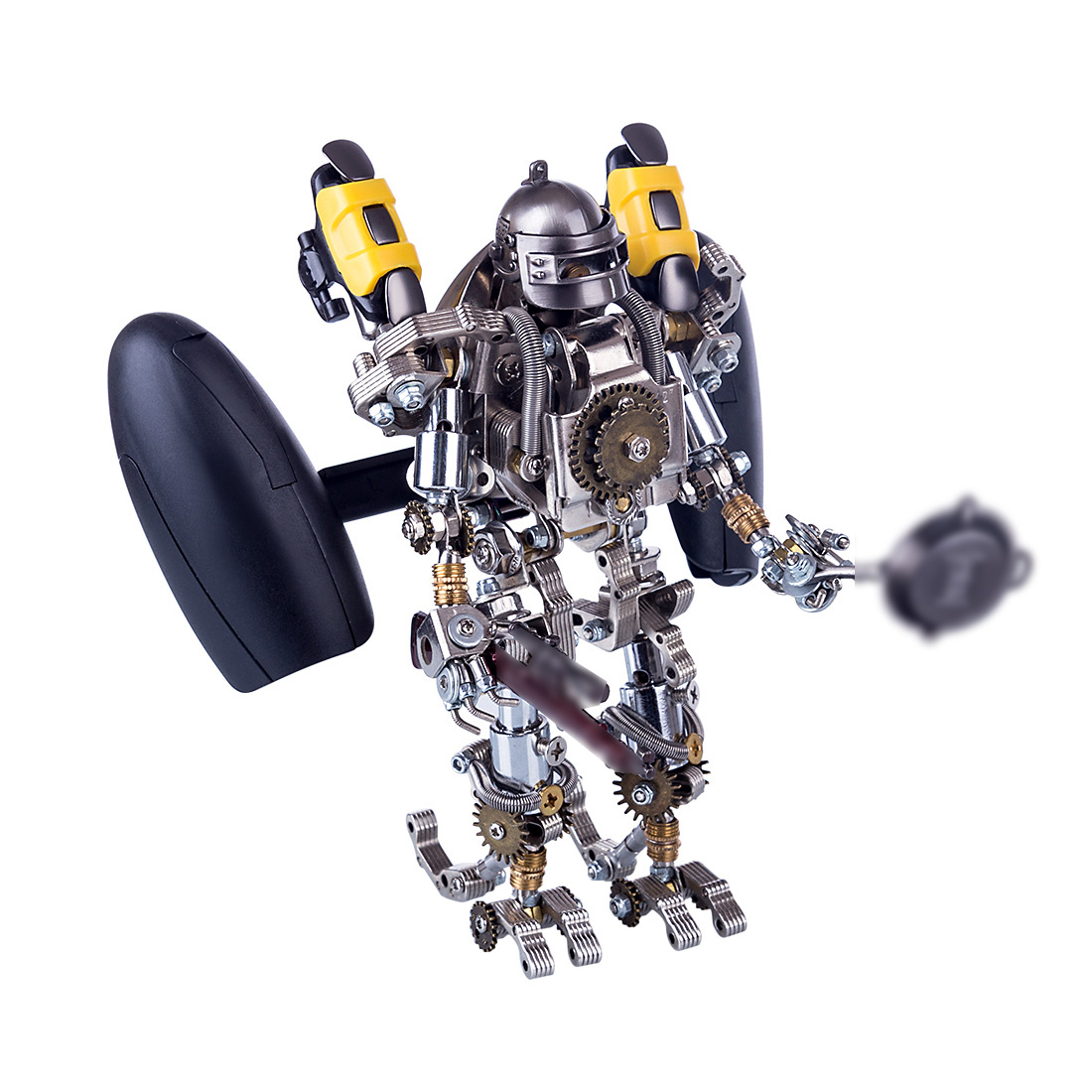 Mechanical Robot 3D Puzzle DIY Metal Assembly Model Kit
