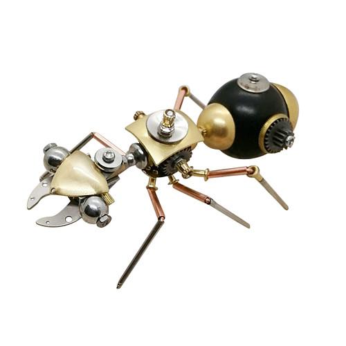 Ant Mechanical Sculpture 3D Metal Model Kits Gaming Room Decor