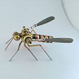 Mechanical Mosquito 3D Puzzle Metal Insect Model