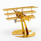1/160 Mini DIY Airplane 3D Puzzle Metal Assembly Aircraft Model Kit