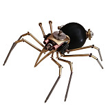 Black Spider 3D Puzzle Metal Mechanical Model Kits