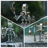 Mechanical Saints Blind Box 3D Puzzle DIY Metal Assembly Model Kit - Random Delivery