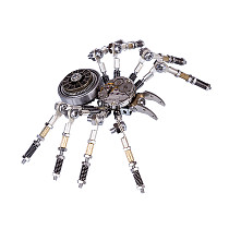 Silver Spider 3D Puzzle Metal Mechanical Model Kits