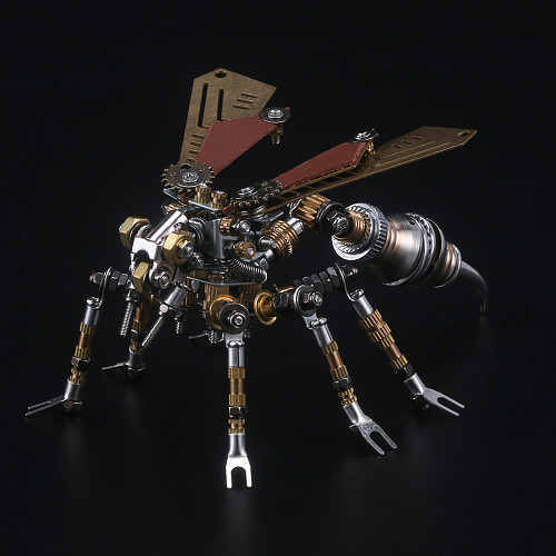 295pcs Mechanical Wasp 3D Puzzle Kits DIY Metal Insect Model