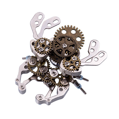 85Pcs Mechanical Beetle 3D Puzzle Metal Insect Model Kit