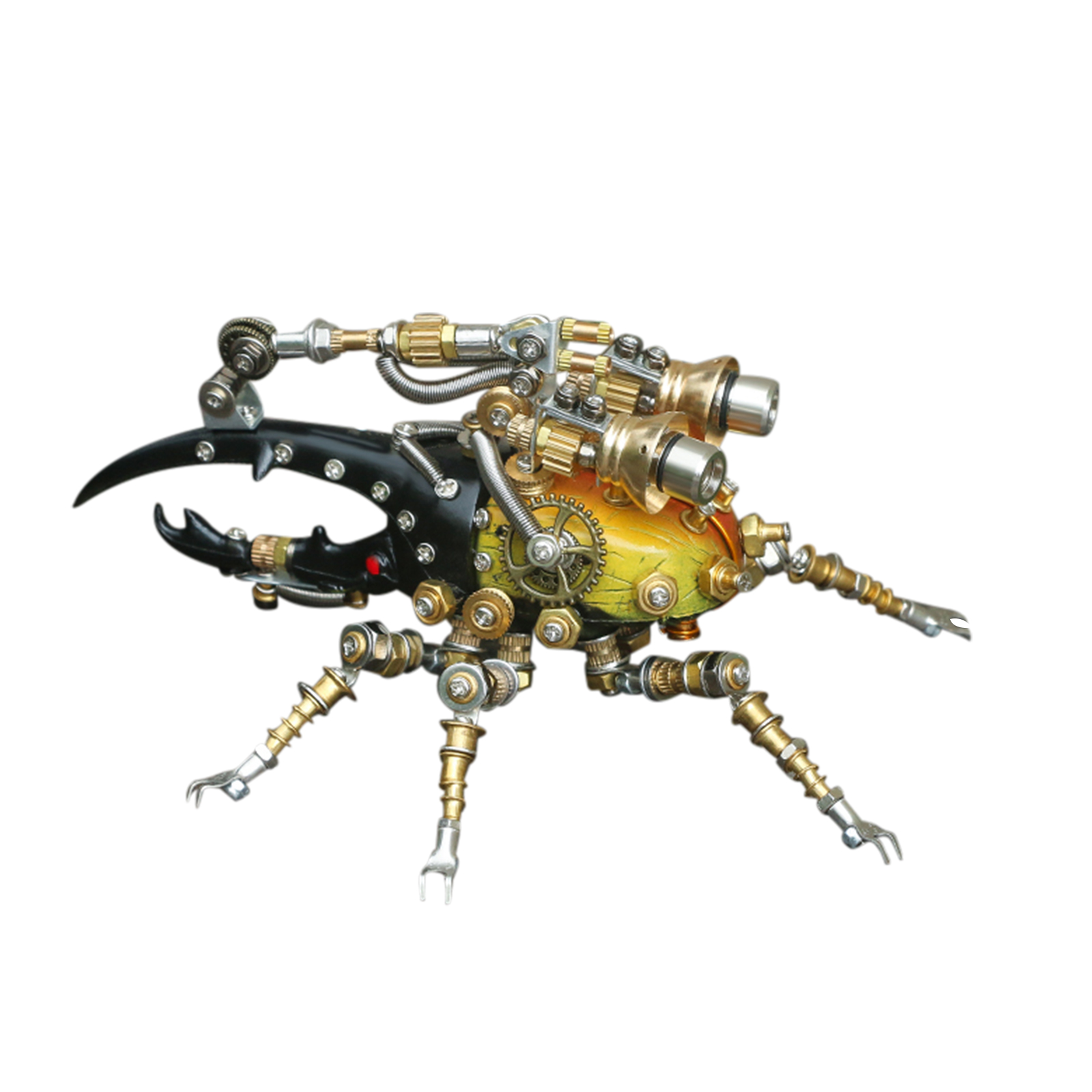 417Pcs Mechanical Worm 3D Puzzle DIY Metal Insect Model Kit