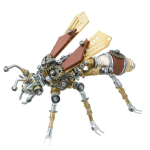 290Pcs Mechanical Termite 3D Puzzle DIY Metal Insect Model Kit