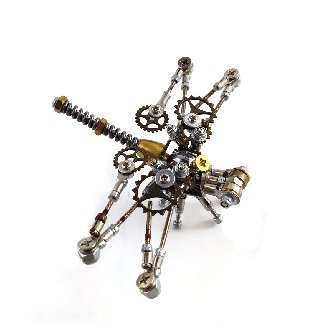 152Pcs Mechanical Dragonfly 3D Puzzle DIY Metal Insect Model Kit