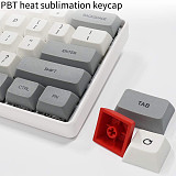 SK61 61-Key Gateron Optical Black Switch Mechanical Keyboard Wired Type-C Mode PBT Keycaps RGB Backlit for Gaming /Win /Mac