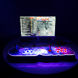 NEWEST Pandora Box 18S Pro 8000 Games LED Lighting Up WiFi Version (Artwork: White Dragon)