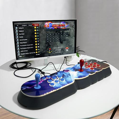 NEWEST Pandora Box 18S Pro 8000 Games LED Lighting Up WiFi Version (Artwork: White Dragon)