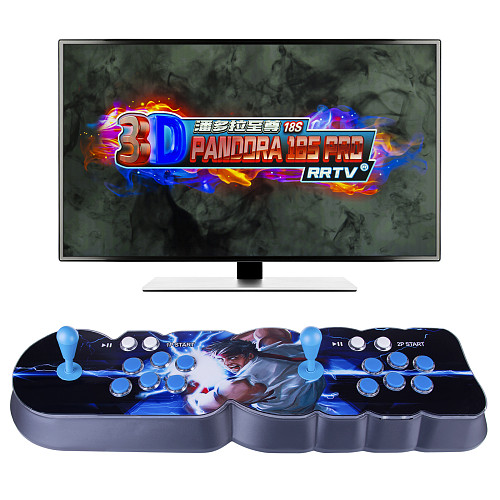 NEWEST Pandora Box 18S Pro 8000 Games LED Lighting Up WiFi Version (Artwork: Lightning Fists)