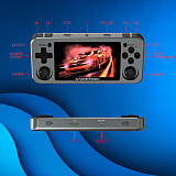 LATEST Anbernic RG351M Metal Version Handheld Built-in 2534 Games Open Source Linux System Retro Console WiFi Module IPS Screen 3.5-Inch (64GB)