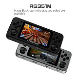 NEWEST Anbernic RG351M Metal Version Handheld Open Source Linux System Retro Console WiFi Module IPS Screen 3.5-Inch (64GB)