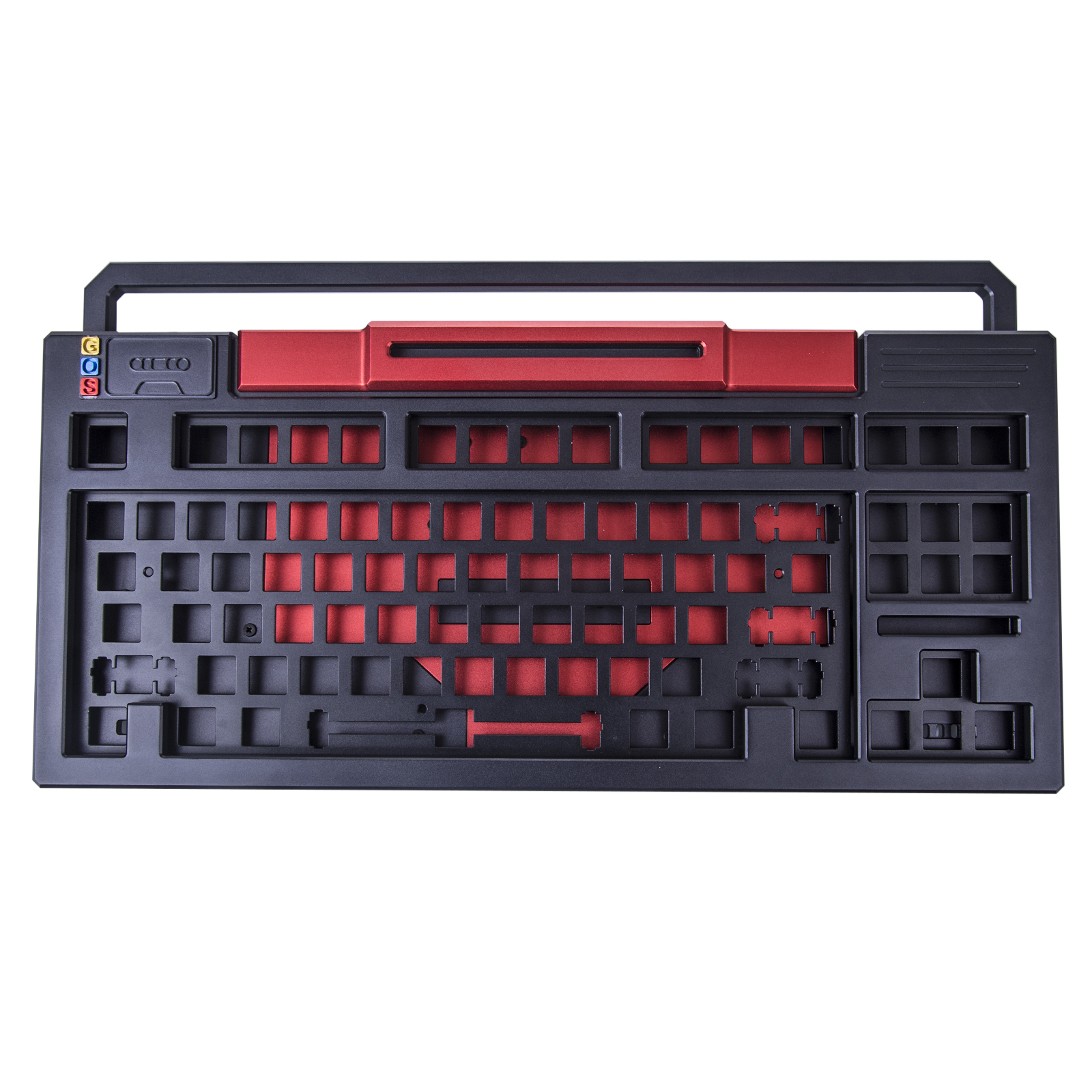 GOS-PLPL 87 Single Mode PCB RGB Lights Hot Swappable Keyboard Kits (Excluded Switches Keycaps)