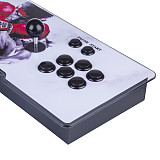 Pandora Box 9S 1388 Games LED Lighting Up Multi-player Arcade Game Console (White+Black Buttons)