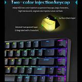 Magic-Refiner MK14 68-Key Gaming Mechanical Keyboard N-key Rollover RGB