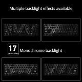 Ajazz 61 Keys Mechanical Gaming Keyboard Wired Wireless Dual-mode