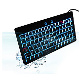 IP68 Waterproof Dustproof Backlight Keyboard with Touch Pad for Medical Equipment Industrial Facilities