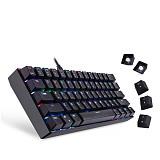 Motospeed CK61 61-Key Gaming Mechanical Keyboard RGB Wired Laptop Desktop LoL Games