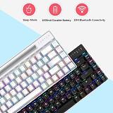 Magic-Refiner MK16 68-Keys Gaming Mechanical Keyboard Bluetooth RGB