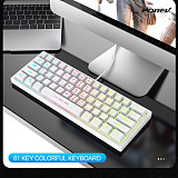 FV-61 61 Keys Mechanical Gaming Keyboard Wired RGB
