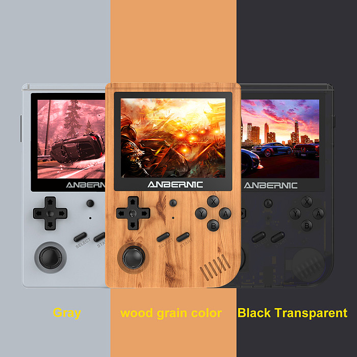 Anbernic RG351V Handheld 128GB 10000 Games WiFi Function Retro Emulation Game Console 3.5-Inch