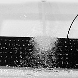 Ultrathin Backlight Waterproof Dustproof Keyboard with Touch Pad for Medical Equipment Industrial Facilities