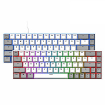 F12 68-Key Gaming Mechanical Keyboard Wireless Bluetooth Wired Dual-mode RGB