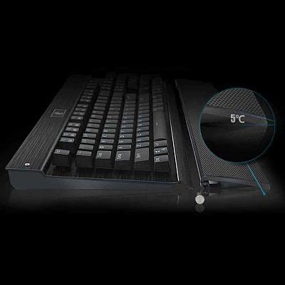 Z77 104 Keys Keyboard RGB Backlight Mechanical Gaming Keyboard with Wrist Rest