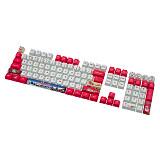 108pcs Keycaps Set Sublimation PBT Dye-sub Keycaps for Custom Mechanical Keyboard