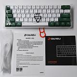 EK861 61-Key 60% Gaming Mechanical Keyboard PBT Keycaps Compact Bluetooth Wireless Keyboard